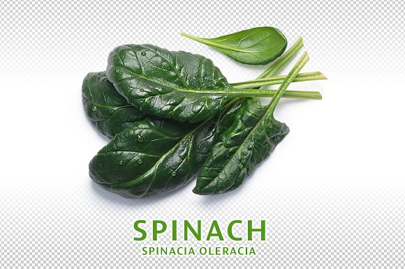 Spinach From Above
