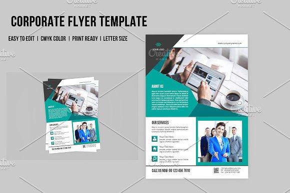 InDesign Corporate Flyer V562