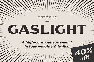 Gaslight - 40% off!