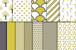 Digital Scrapbook paper pack