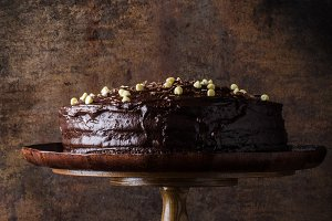 Chocolate cake three layers