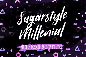 Sugarstyle Millenial Typeface