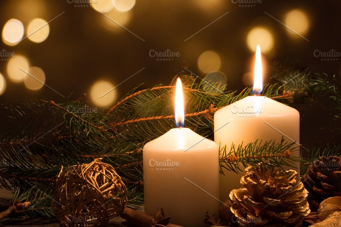 Candles and lights.jpg - Holidays