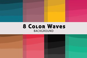 Color Wave Background