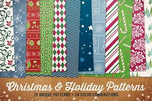 Christmas & Holiday Patterns Vol 1