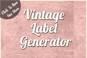 Vintage Label Generator