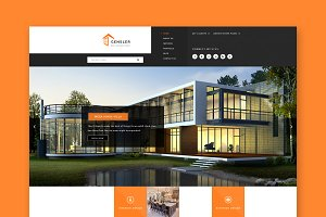 Gensler : Architecture HTML Template