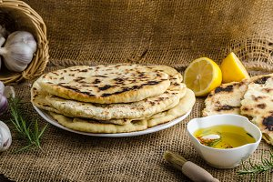Indian bread naan