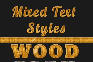 20 Mixed Text Styles