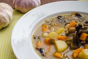 Honest homemade potato soup