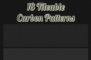 18 Tileable Carbon Patterns