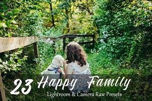 23 Happy Family Lr & ACR Presets
