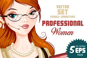 Beautiful Professional Women SET