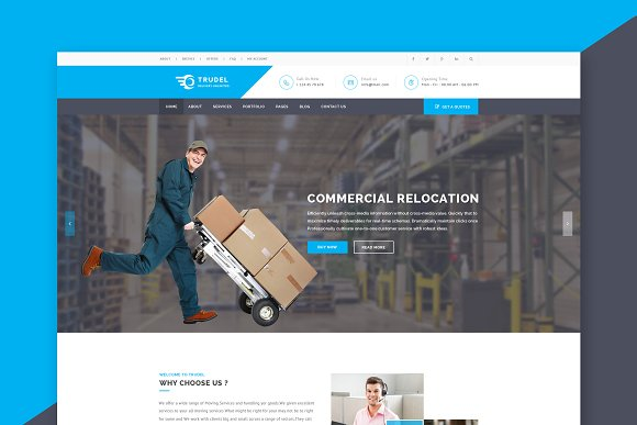 Trudel Movers HTML Template