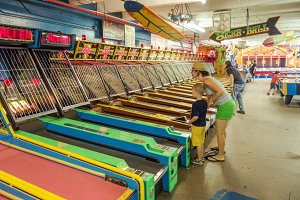 Midway Game: Skee Ball