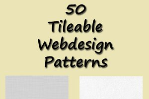 50 Tileable Webdesign Patterns