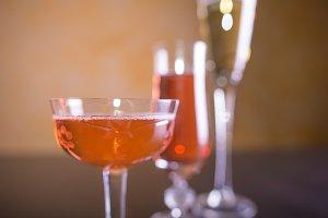 glasses of cava/champagne