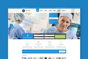 We care - Medical HTML Template