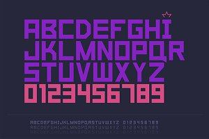 Strict font