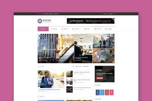Hash - Magazine HTML Template