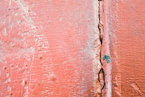 Concrete Surface in Red