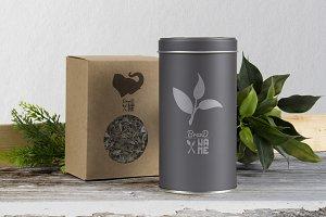 4 Tea Logos