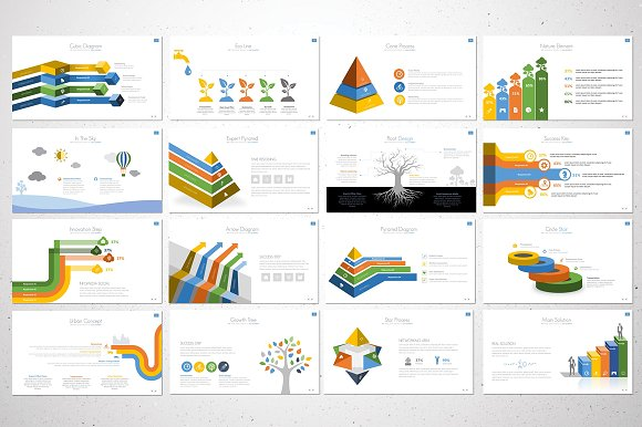 The Report Powerpoint Template
