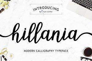 Hillania Script Font | 50% OFF