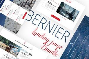 Bernier - Landing Page Bundle