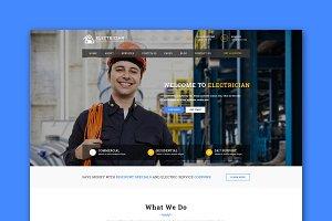 Handyman - Responsive HTML Template