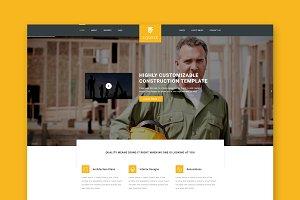 Equfix - Construction HTML Template