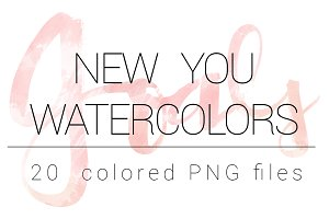 New You Watercolors