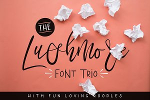 Happy Birthday Typography Cursive ~ Jack and zoe font collection ~ script fonts ~ creative market