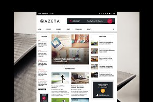 Gazeta 2 - Magazine HTML Template