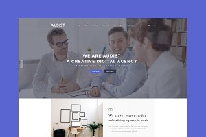Audist - Agency HTML Template