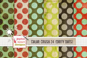 Color Crush 34 {dirty dots}