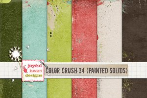 Color Crush 34 {painted solids}