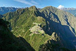 Inca old Machu Picchu town