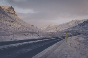 Icy Mountain Road #04