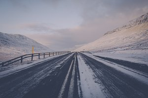 Icy Mountain Road #02