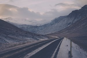Icy Mountain Road #05