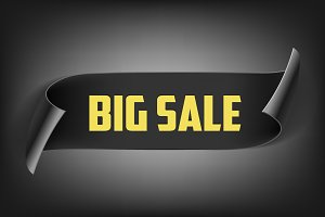 Black Ribbon. Big Sale