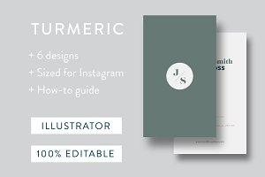 TURMERIC Business Card Template