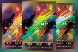 Final Mix Flyer