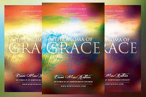 The Aroma of Grace Church Flyer
