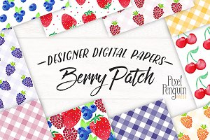 Berry Design Digital Paper