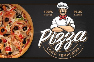 Pizza Logo Templates