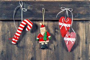 christmas decoration handmade toys