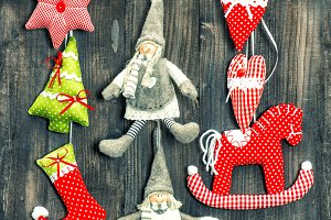 christmas decoration handmade toys