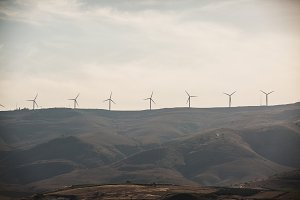 The Golan Heights Wind Farm is an Israeli .